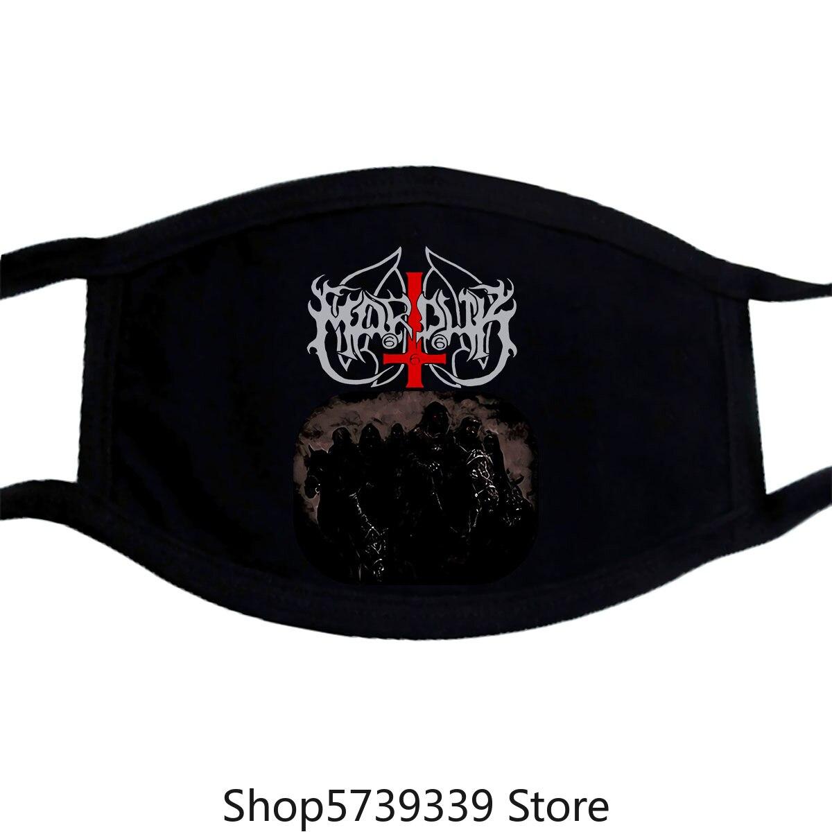 Marduk Those Of The Unlight Mask-New Washable Reusable Mask For Unisex Black