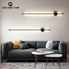 Led Wall Light Indoor Lighting Living room Bedroom Bedside Sconce Wall Lamp Bathroom Lamp Mirror Front Light Gold Black Wandlamp