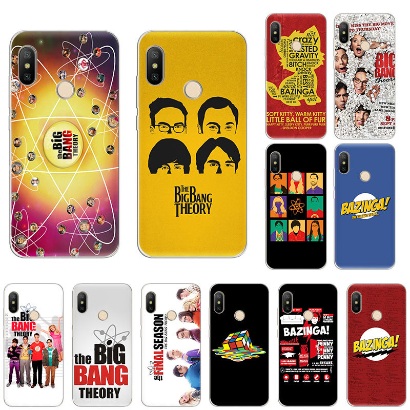 The <font><b>Big</b></font> <font><b>Bang</b></font> Theory Mode Soft silicone <font><b>phone</b></font> <font><b>Case</b></font> For Xiaomi Mi Note10 9T CC9 9 8 A3 Lite Play A2 6x Redmi Note 8T 8 7 5 Pro 6 4 image