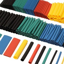 цена на 328pcs Heat Shrink Tubing Tube Wire Insulation Sleeving Kit Car Electrical Shrinkable Cable Wrap Set Assorted Polyolefin