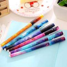 1 шт. распродажа шариковые студенческие ручки Звездная ночь шариковая ручка школьные офисные принадлежности Обучающие канцелярские принадлежности