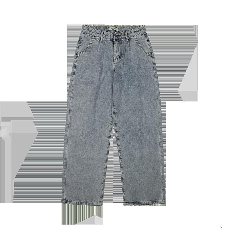 FaS008 2019 New Autumn Winter Women Fashion Casual  Denim Pants Denim Men Man Pants Jeans Clothes Men