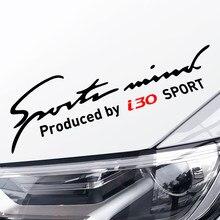 32*9cm esportes mente carro lâmpada sobrancelha reflexivo vinil pvc adesivos decalques para hyundai i30 decoração do corpo carro acessórios