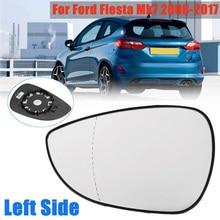 купить Car Left Side Rear View Wing Mirror Glass Lens ABS Plastic For Ford FIESTA MK7 2008-2017 Rear View Mirror дешево