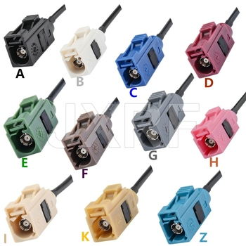 FAKRA Cable A B C D E F G H I K Z Type female pigtail RG174 Car Radio Antenna Extension cable for GPS RF Communications Systems 1