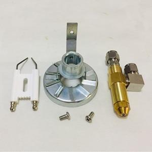 Image 5 - Mistking yağ püskürtme şişesi memesi, Yakıt Brülör, atık yağ yakıcı Memesi, hava püskürtme memesi, Dizel ağır yağ memesi, Brülör Sabitleyici