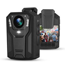 BOBLOV 1296P Body Mounted Camera 32G/64G 9H Recording Wearable Video Recorder for Police Security Guard Night Vision Mini Camera
