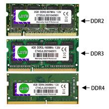 LDYN DDR3 DDR4 8GB 4GB 16GB pamięć Ram laptopa 1333 1600 2400 2666 2133 DDR3L 204pin Sodimm pamięć do notebooka ddr3 ram 8gb pamięci RAM DDR4 4GB tanie tanio 1333 MHz CN (pochodzenie) latpop ram 4gb 8gb 16GB DDR3 DDR4 1 5VV 1600 2133 2400 2666MHz DDR4=1 2V DDR4=2666Pin 15 17 19