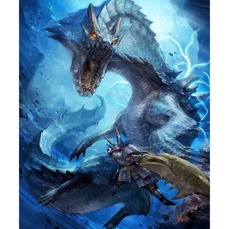 Monster Hunter World 3 GSX PC Games Mousepad Gaming Mouse Pad Action Figure ICE Borne Playmat Desk Mat For Children