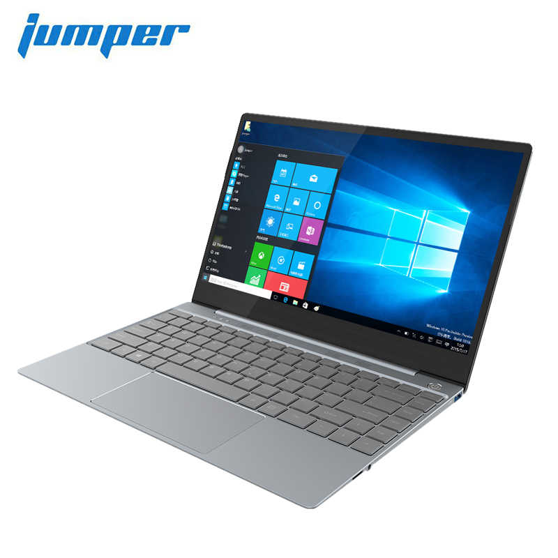 Jumper Ezbook X3 Pro Notebook Dunne Metalen Body Ips Display Laptop Verlicht Toetsenbord Intel Gemini Lake N4100 8 Gb LPDDR4 180 Gb Ssd