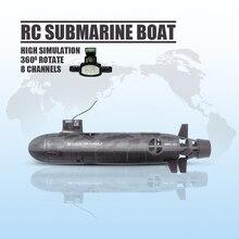8CH подводная лодка RC большой Дистанционное Управление гоночный электронный Fun рыбацкая лодка игрушка против приманки игрушки для детей