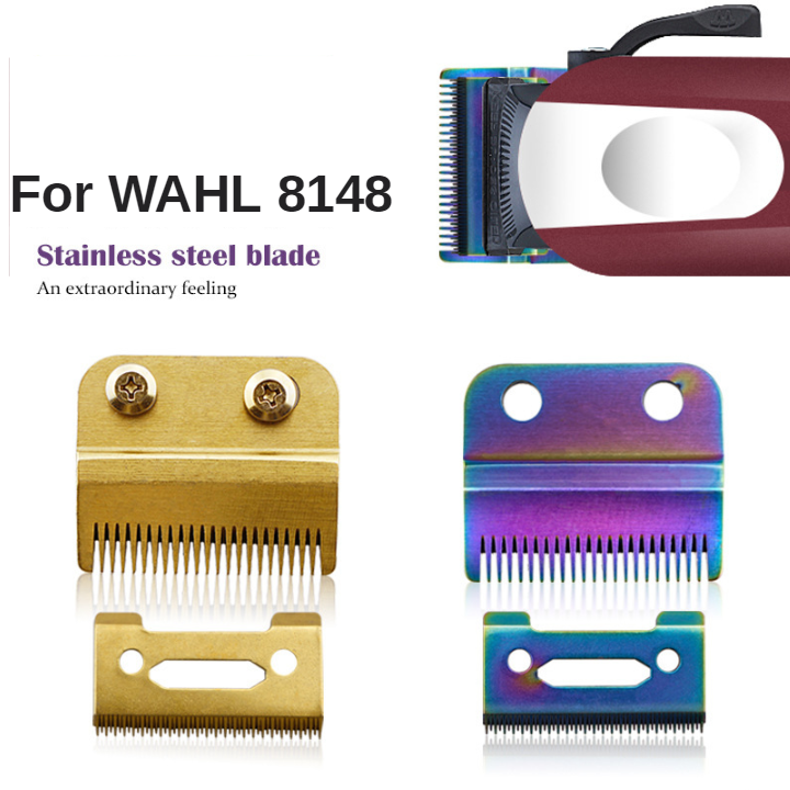 For WAHL 8148 Multifunctional Home Ceramic Accessories Durable Hair Trimmer Pro Heat Resistant Electric Shear Cutter Blade G0311