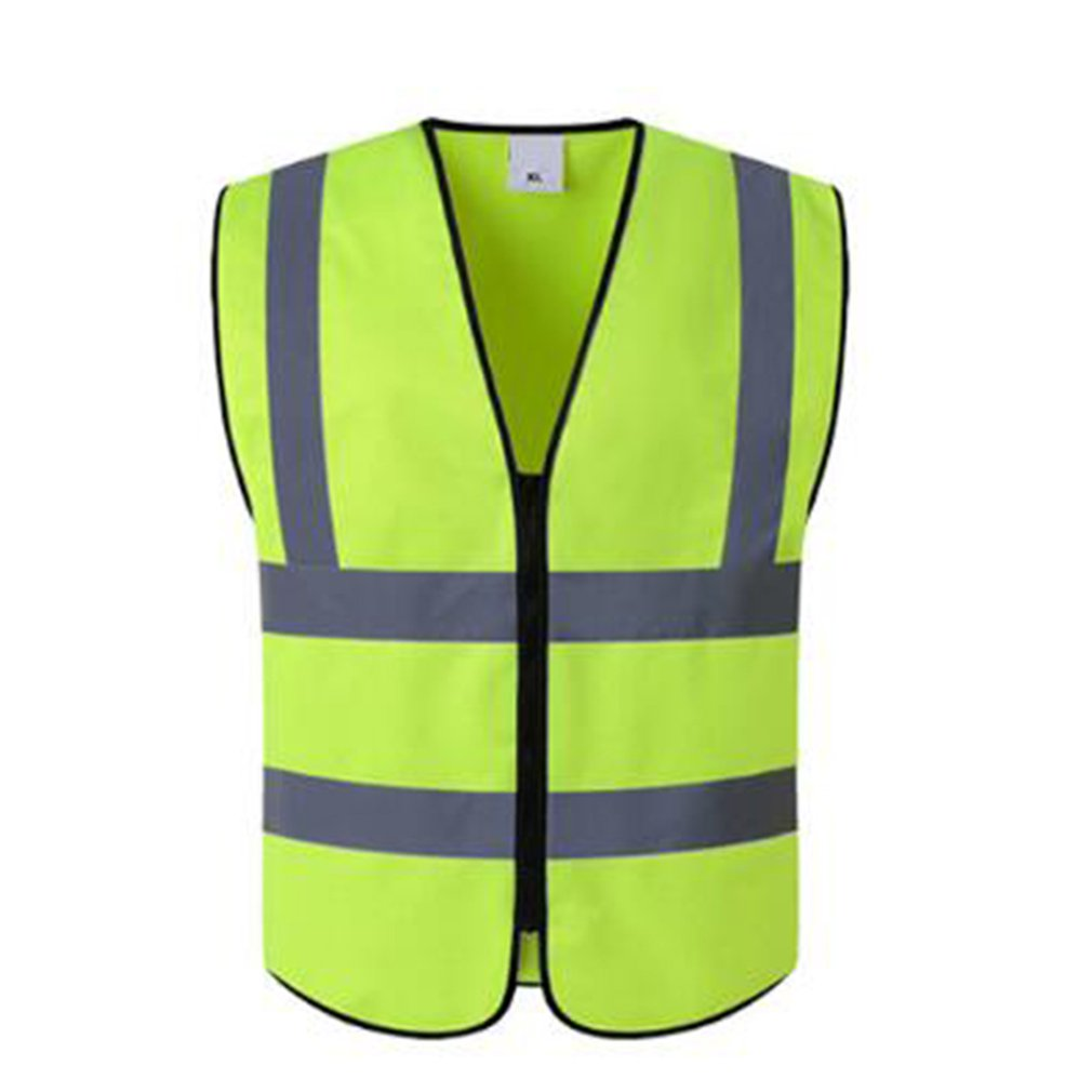 New Vest Yellow Orange Blue Green Color Reflective Fluorescent Outdoor Safety Clothing Running Ventilate Safe High Visibility