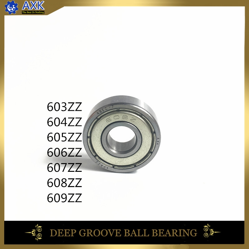 603ZZ 604ZZ 605ZZ 606ZZ 607ZZ 608ZZ 609ZZ Bearing ABEC-5 10PCS 4x12x4 MM Miniature 604Z Ball Bearings 604 ZZ EMQ Quality