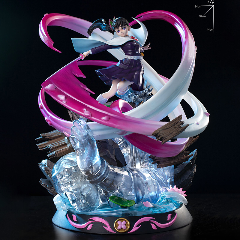 Demon Slayer's Blade: Kuri Hualuo Chanahu vs. Tong Mo GK Limited Statue Figure 1