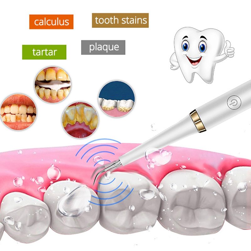 Ultrasonic Scaler Tips Handpiece for Xiaomi Soocas Electric Toothbrush Remove Calculus Plaque Tooth Stain