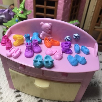 New Brand Takara Genuine Bulk Petite Mini Blythe Mini Doll Small Cloth Shoes 0.8cm