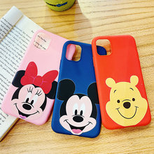 Phone Case for iPhone 11 Pro XR X Xs Max 8 7 6 Plus 6S Cartoon Mouse Bear Popular Sport Style Frosted Silicone Cases Soft Cover