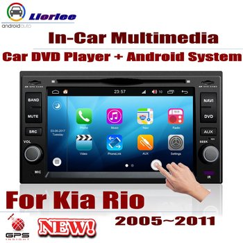 For Kia Rio (JB)/Rio5 Xcite 2005-2011 Car Android Player DVD GPS Navigation System HD Screen Radio Stereo Integrated Multimedia