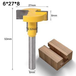 Image 5 - 6mm Shank T Slot T Track Slotting Router Bit for Woodworking Chisel Cutter Tool