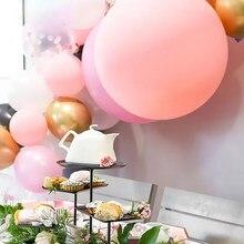 Утолщенные латексные воздушные шары конфетно-розового цвета, украшения на день рождения, свадьбу, Baby Shower, новогодний декор для комнаты, фест...