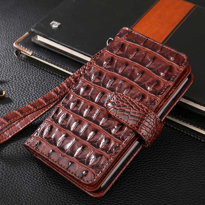 高級フリップケース革カバー Redmi 3 4 5 5A 4X 注 2 3 6 6A 7 k20 Redmi 行く 3d ワニの手ストラップカードスロット財布カバー