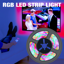 5V RGB LED Strip Light USB Powered Flexible Led Lamp Tape 2835 SMD Neon Ribbon Led RGB Strip Decor Home TV Backlight Lighting 5v rgb led strip 5050 2835 tira led usb ribbon rgb backlight tape for computer tv fita led stripe flexible neon light warm white