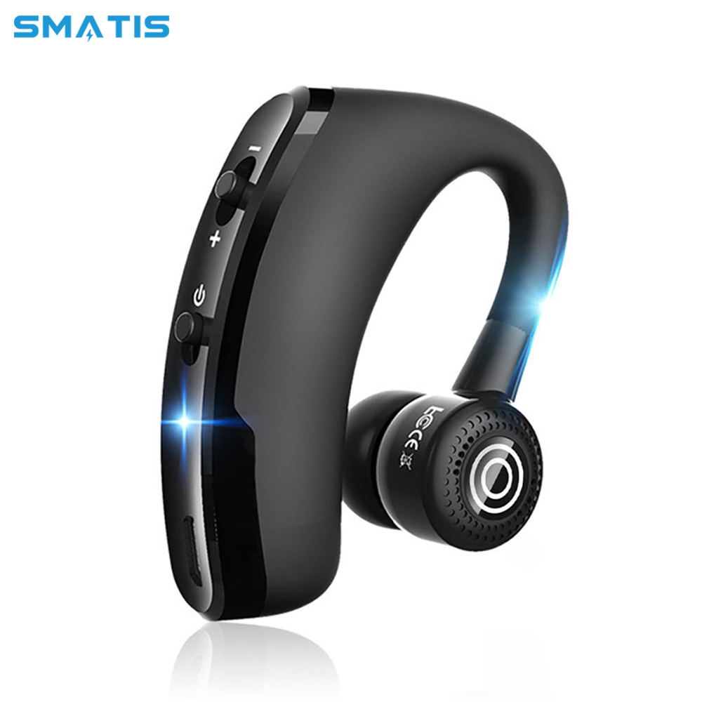 V9 Wireless Earbud Bluetooth 4.1 Headset Single Headphone 6H Talking Time With Microphone Headset Hands-Free Call For Car Driver