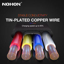 Micro USB Cable Data Charger Cord For Samsung A10 S7 Honor 10i Redmi Note 4 4X 5 microusb Mobile Phone Wire 3A Fast Charge 2m 3m