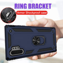 Luxury Magnetic Ring Armor Silicone Case For Samsung Galaxy Note 10 Plus 9 S8 S9 S10 Shockproof S8 S9 S10e Plus Phone Case Cover(China)