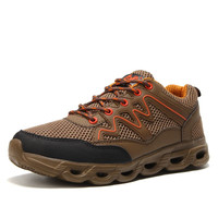 Spring Summer Breathable Light Mesh Men Shoes For Men Adult Net Sneakers Walking Non Slip Brand Casual Footwear