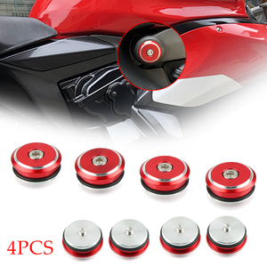 Motorcycle Frame Hole Cover Insert Plug Cap Cover Accessories For Ducati Panigale 899 959 1199 1199S 1299 1299S Panigale V4 S