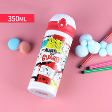 Disney 350ml Baby Thermos Bottles Feeding Cup Children's 2019 Winter Insulation Kids School Bag Portable Children's Water Bottle(China)