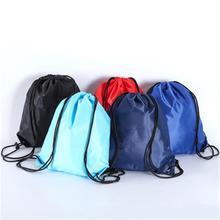 Drawstring Nylon Waterproof Shoulder Full Cloth Beam Storage Bag Basketball Volleyball Outdoor Sports Fitness Storage Bag
