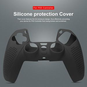 Gamepad Silicone Non-slip Protective Suitable For Playstation5 Accessories PS5 Controller Non-slip Cover Luminous Thumb Grip Cap