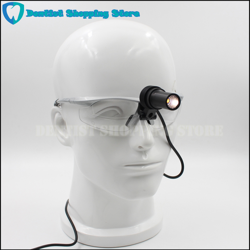 Doctors Medical headlight LED inspection lamp dental Surgical lights with Goggles