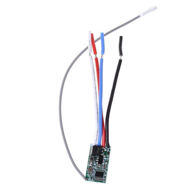 2021 nuovo modulo ricevitore interruttore luce 5V 12V 24V 433Mhz telecomando senza fili LED Controller di illuminazione trasmettitore RF