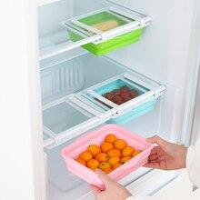 Холодильник организатор ящик телескопический выдвижной холодильник ящик для хранения держатель полки MU8669