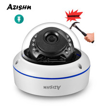 NEW Audio IP Camera H.265+ 5MP 2592X1944P Vandalproof Outdoor/indoor Dome 2MP/3MP 15IR leds XMEye Motion detect CCTV CAM