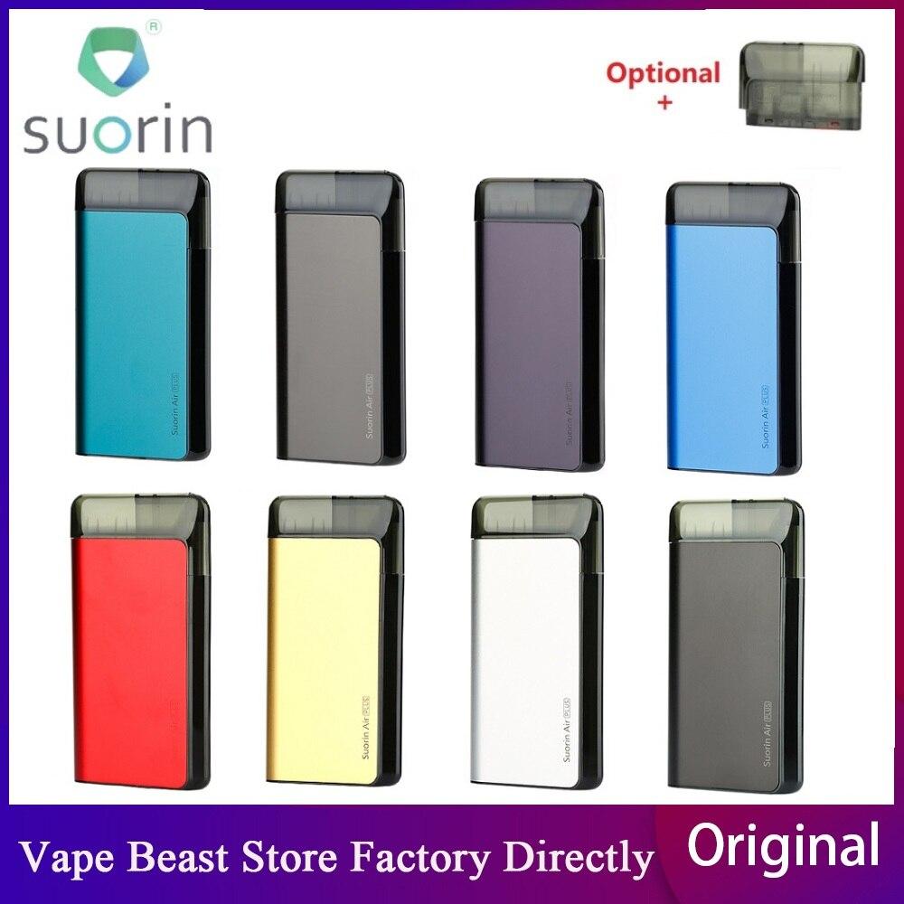 Original Suorin Air Plus Pod System Kit With 930mAh Built-in Battery & 3.5ml Tank E-cig Pod Vape Kit E Cig Vs Drag Nano/ Minifit