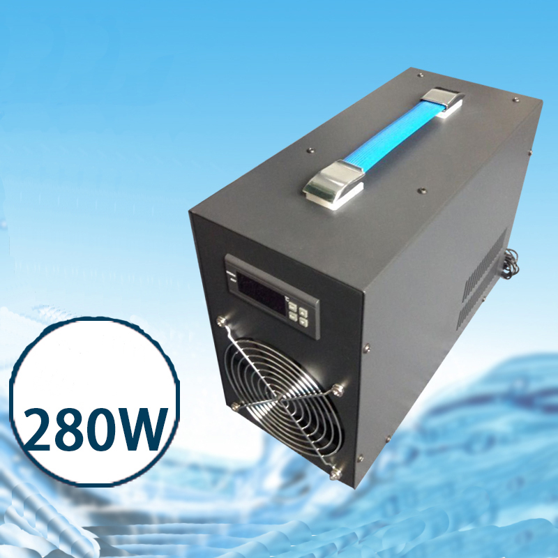 60L 280W LCD Display Aquarium Water Chiller Pond Cooling Device Fish Tank Constant Temperature Cooling Equipment