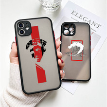 Art Painting Deer Phone Case For iPhone 12 11 Pro Mini XR X S MAX SE 2020 7 8 6 S Plus PC Hard Shockproof TPU Camera Lens Cover