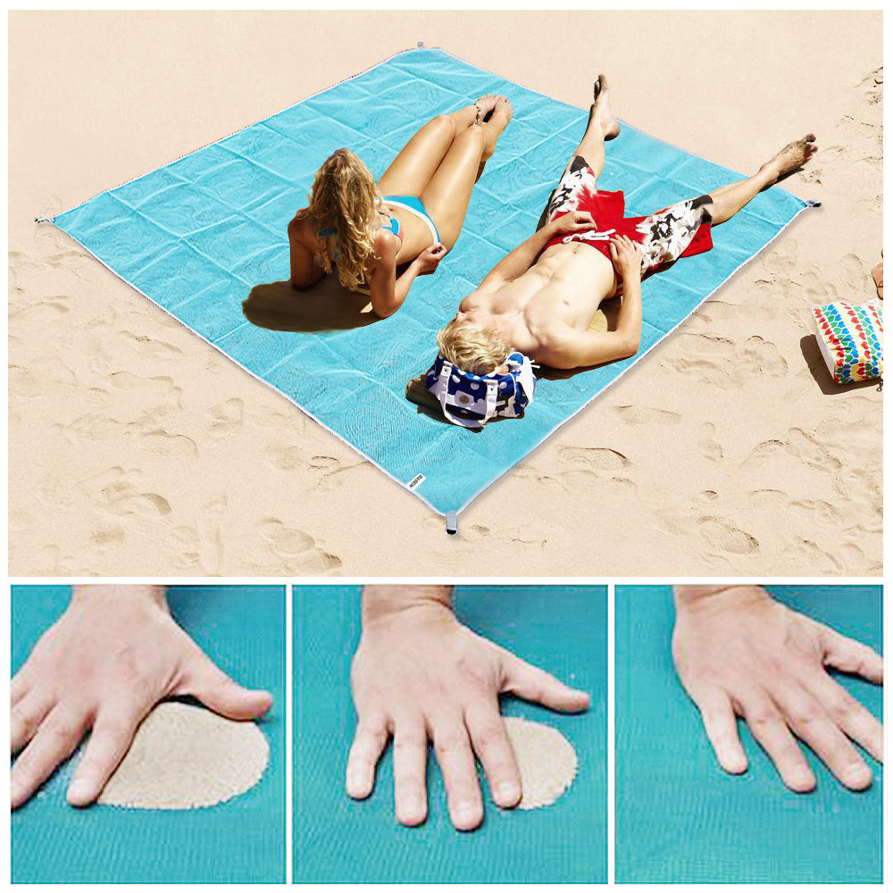New Outdoor Beach Mat Magic Sand Beach Blanket Portable Waterproof Sand Beach Towel Travel Camping Bed Picnic Mattress