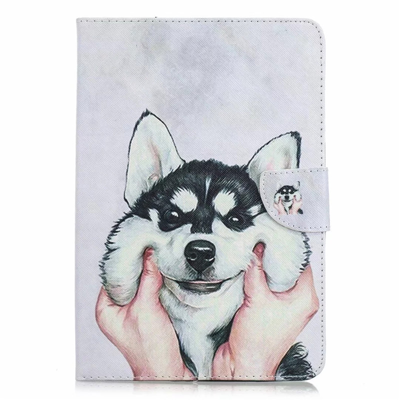 Husky White For iPad Air 3 Pro 10 5 2019 2017 Case Cute Unicorn Cat Magnetic Tablet Cover