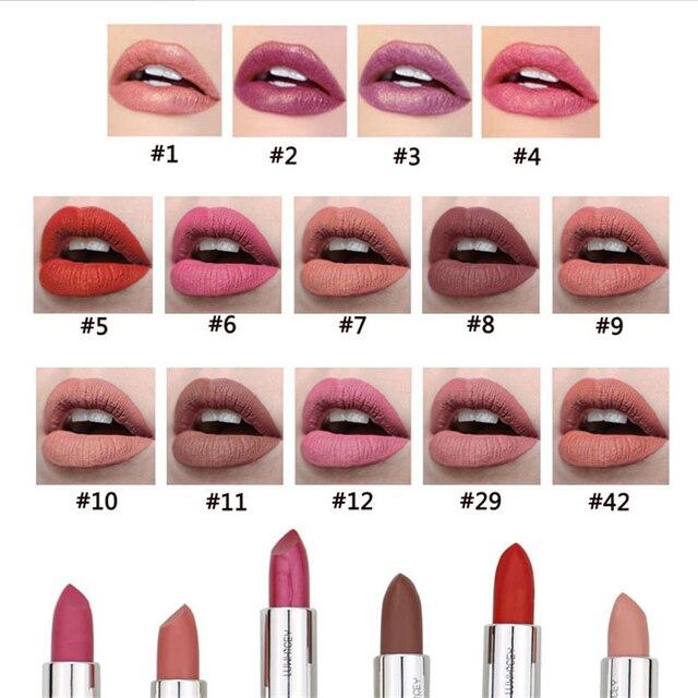 14 Colors Matte Lipstick Lips Make Up Waterproof Velvet Lip Stick Nude Red Brown Lips Makeup Matt Long Lasting Lipsticks 3