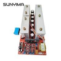 SUNYIMA czysta fala sinusoidalna przemiennik częstotliwości listwa zasilająca DC 24V 36V 48V 60V do 220V wysokiej mocy 6000W obwód główny Model falowniki w Przemienniki i przetworniki od Majsterkowanie na
