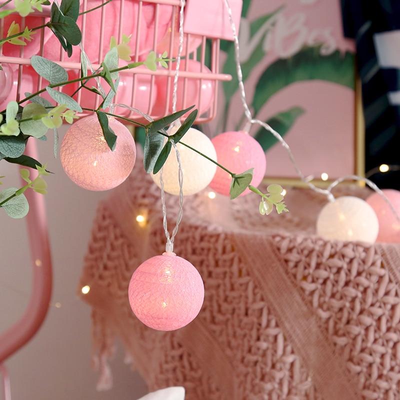Cotton Balls Light Chain…