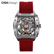 Ban đầu DAO CẮT CIGA Thiết Kế Dòng Z nam Smart Watch Đồng hồ tự động Cơ Tự gió Đồng Hồ đeo tay Đồng Hồ Thông Minh Smartwatch