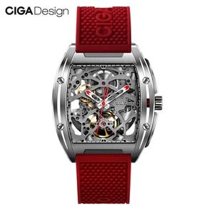 Image 1 - Original CIGA Design Z Series mens smart watch clock Automatic Mechanical Watch Self wind Wrist Watches smartwatch