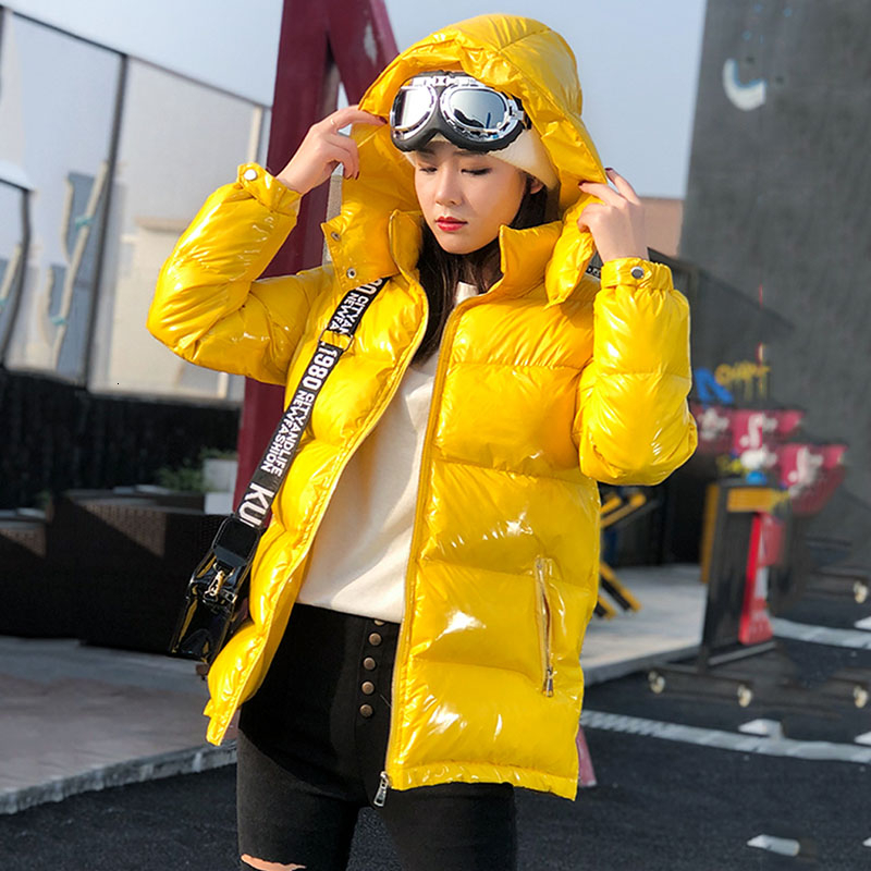 2020  Short Hooded Warm Down Cotton Coat Womens Winter Jackets And Coats Female New Fashion Parka Harajuku Clothes Tops MY209